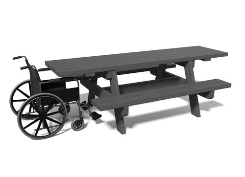 Table de pique-nique adaptée aux pmr PARC