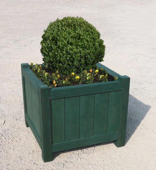 jardiniere en plastique 100% recycle gamme versailles - Jardinière VERSAILLES ESPACE URBAIN
