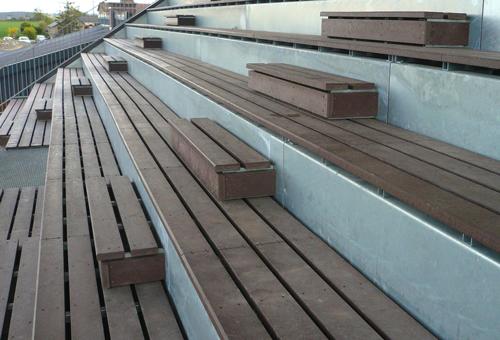 - Rénovation de gradins ESPACE URBAIN