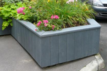 rénovation de jardinière sur-mesure