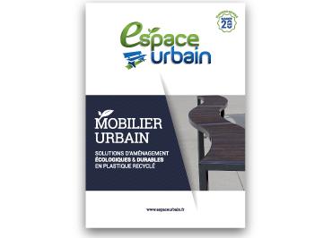 Couverture catalogue Espace Urbain - mobilier urbain plastique recyclé