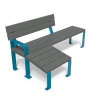 gamme flexo mobilier plastique recyclé et métal modulable