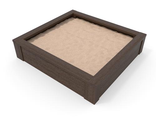 bac a sable en plastique recycle pour les enfants ecoles parc de jeu - Bac à sable 130x140 cm ESPACE URBAIN