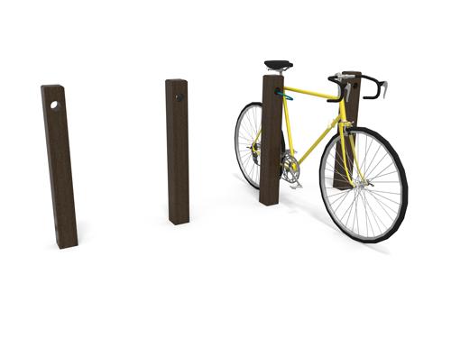 range-velo economique en plastique 100% recycle - Range-vélo Parc éco ESPACE URBAIN